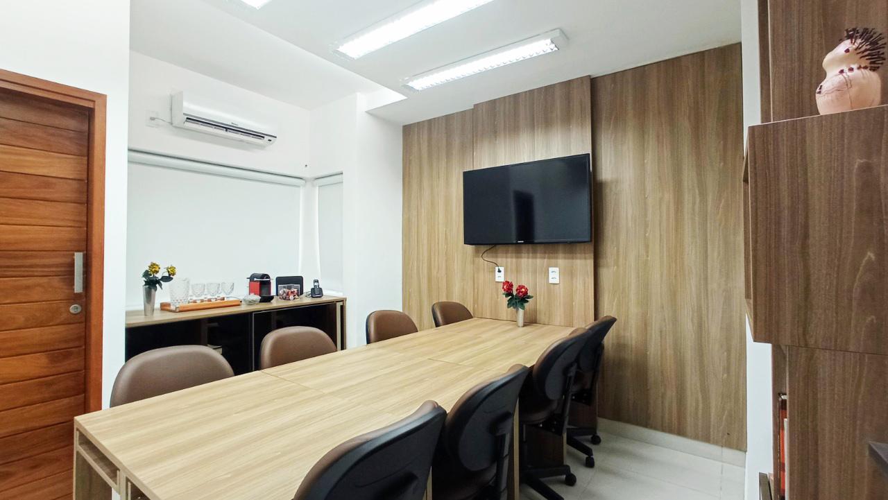 """Sala de Reunião para """"Focus Group""""."""